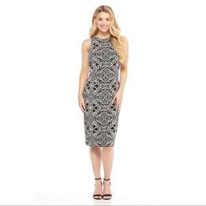 MAGGY LONDON Sheath Workwear Lisette Midi Dress